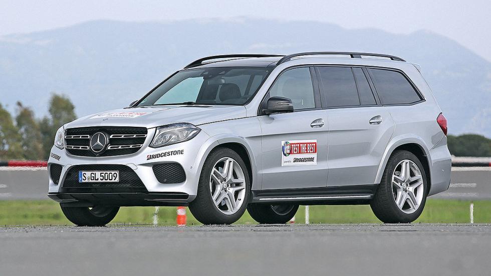 Mercedes GLS 3 cuartos lateral