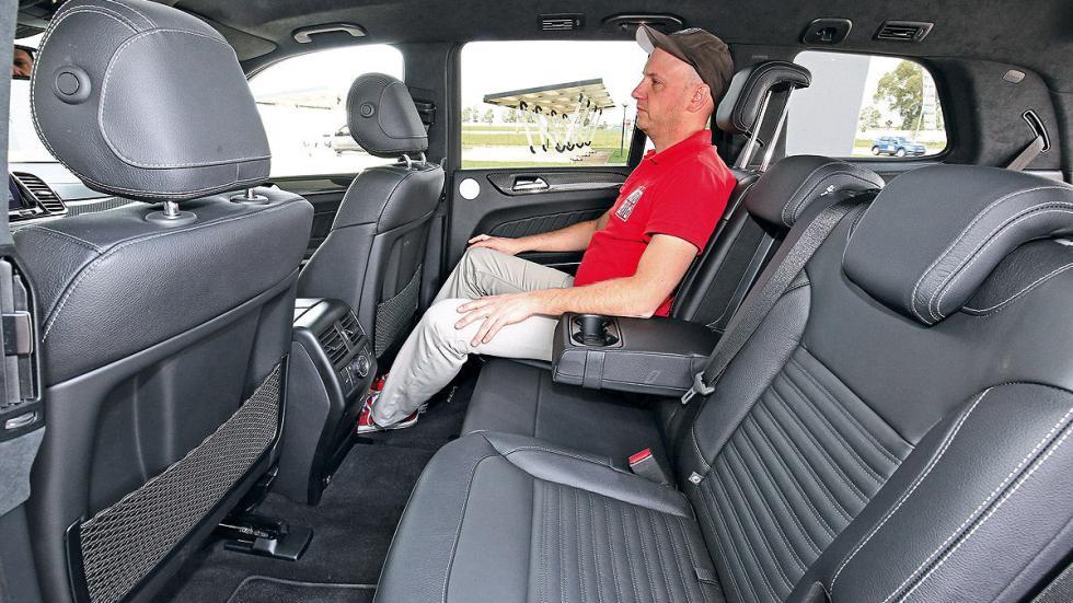 Mercedes GLS traseras