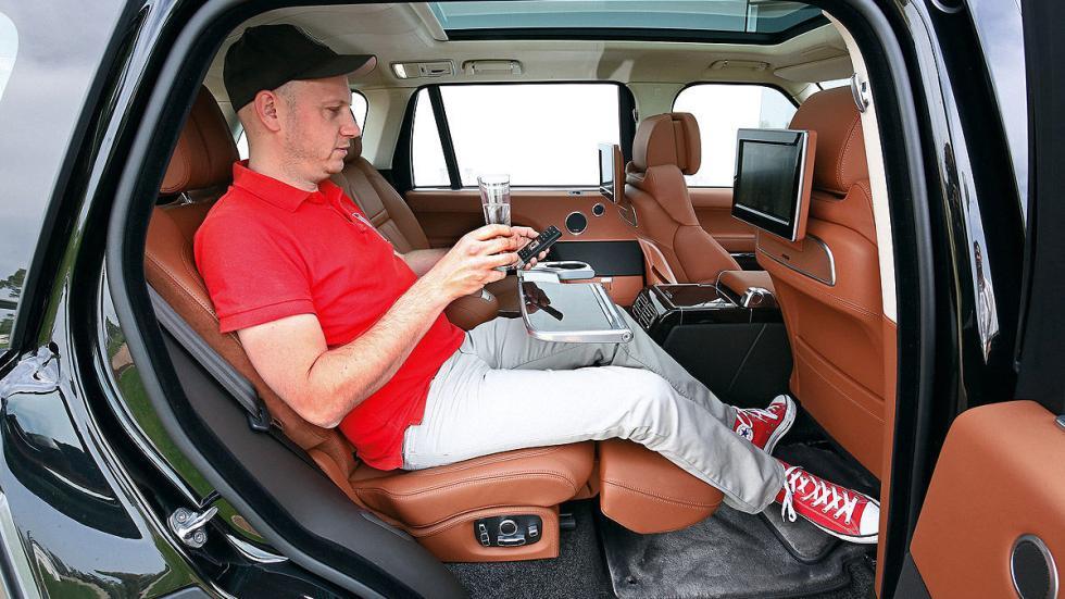 Range Rover traseras
