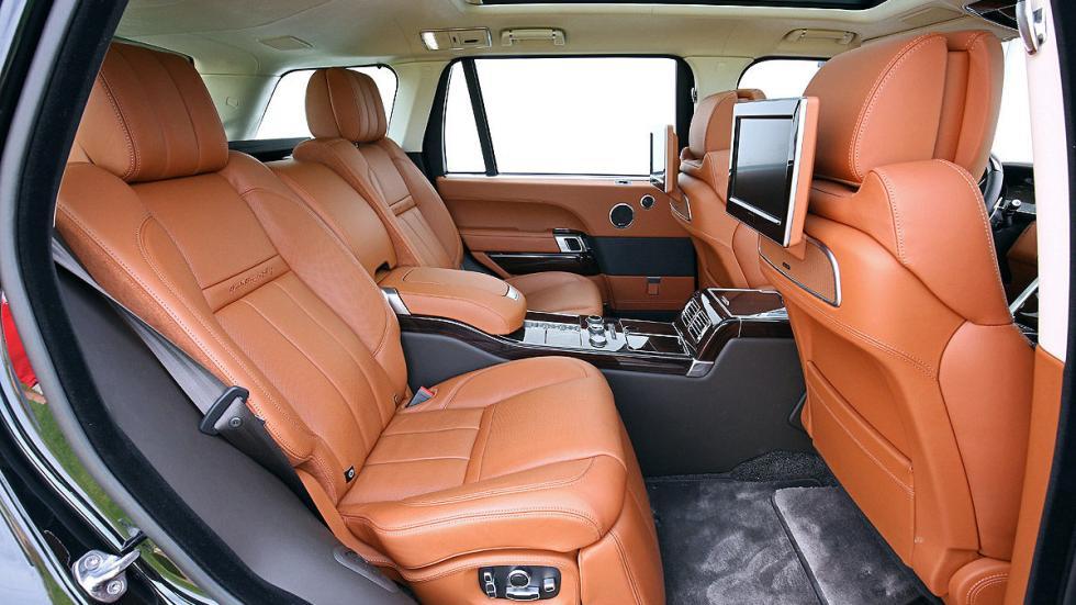 Range Rover traseras vacías