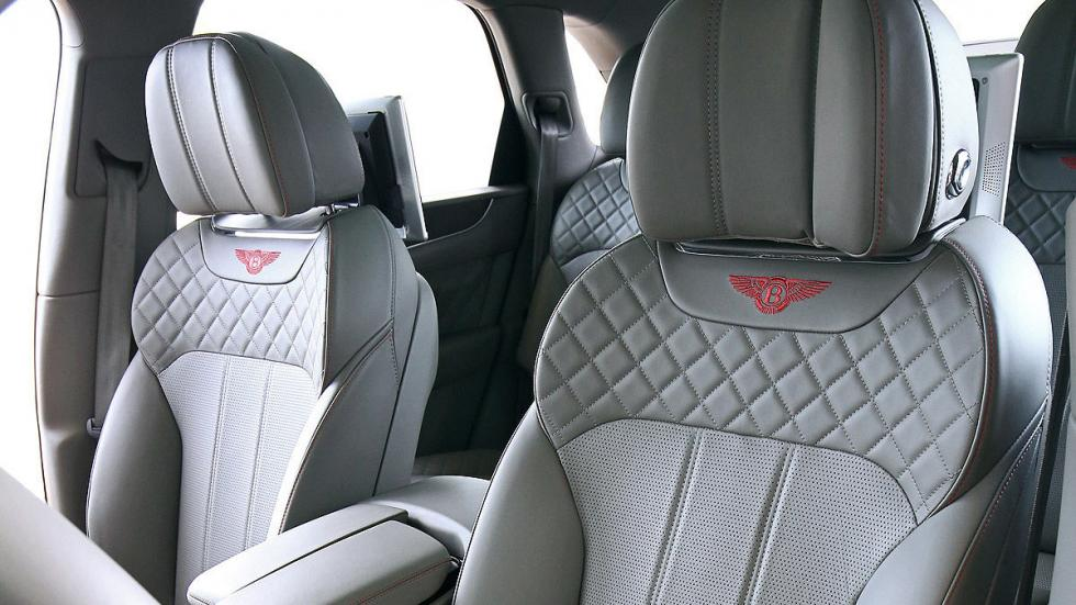 Bentley Bentayga delanteras