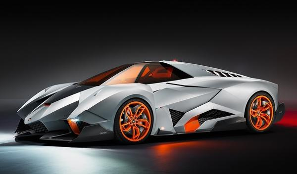 Lamborghini Egoista tres cuartos delantero