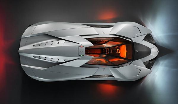 Lamborghini Egoista aérea