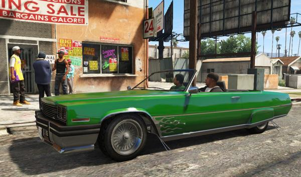 Coches GTA V descapotable