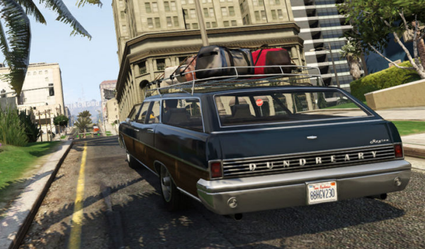 Ford Mercury GTA V