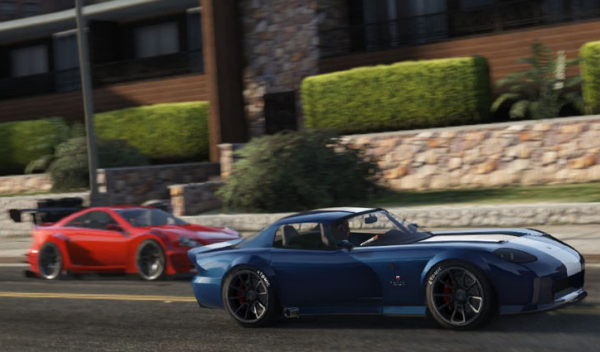 Dodge Viper SRT GTA V