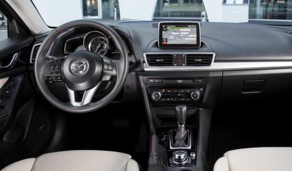 Mazda3 2014 interior