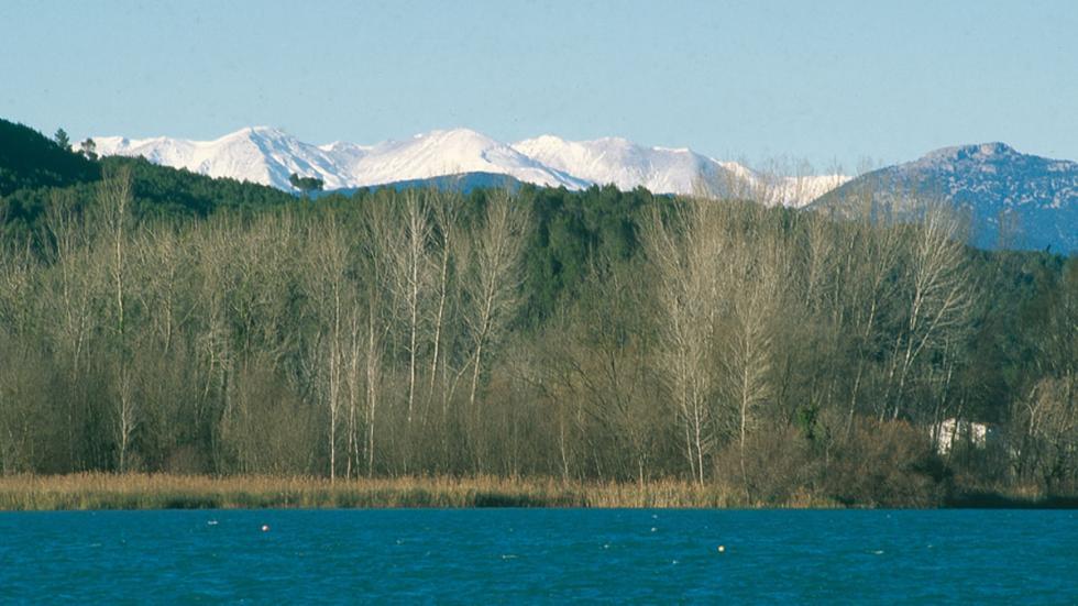 Lago de Banyoles (Banyoles, Girona).