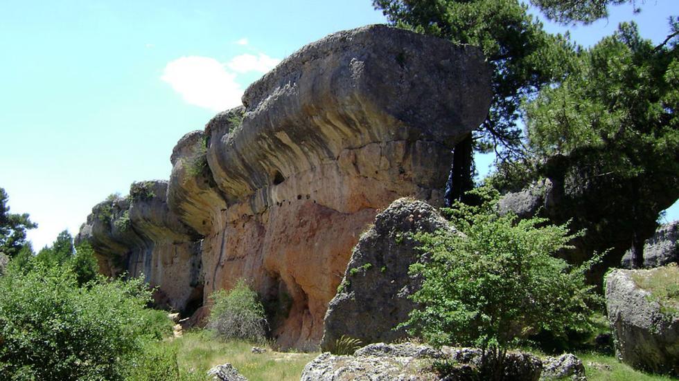 La Ciudad Encantada de Cuenca.