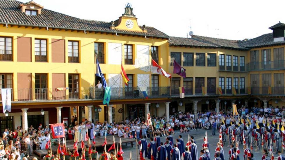Plaza Mayor de Tordesillas.