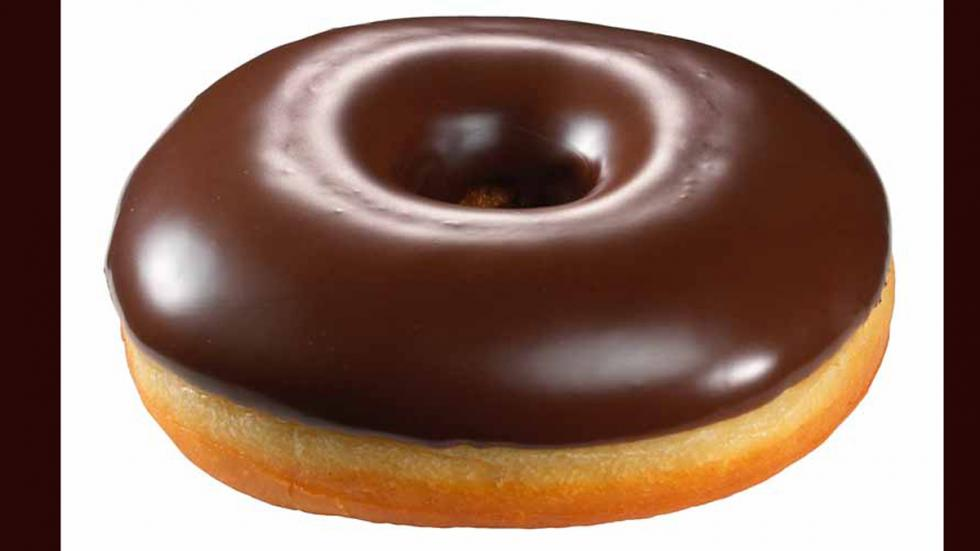calorías donut chocolate