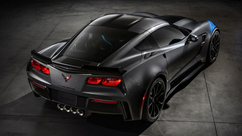 Chevrolet Corvette Grand Sport Coupé 2017 trasera
