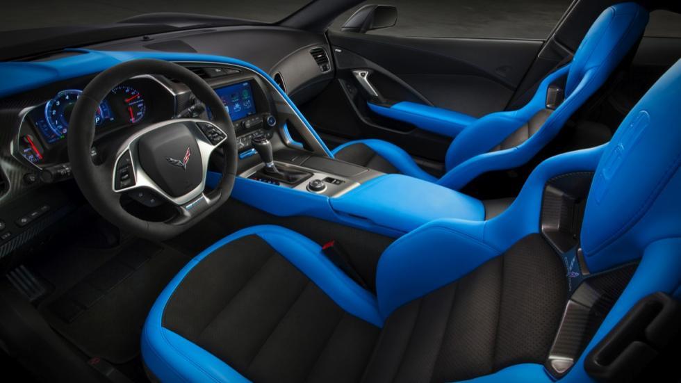 Chevrolet Corvette Grand Sport Coupé 2017 asientos