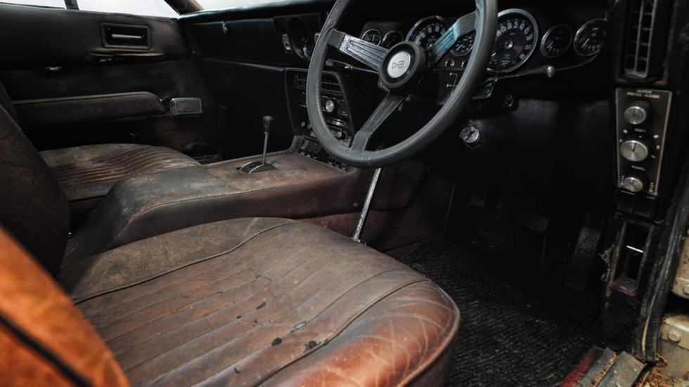 subasta Aston Martin DBS 1968 interior