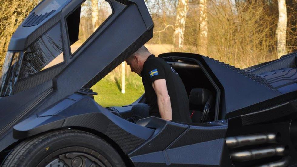 coche más espectacular Gumball 3000 2016 puerta