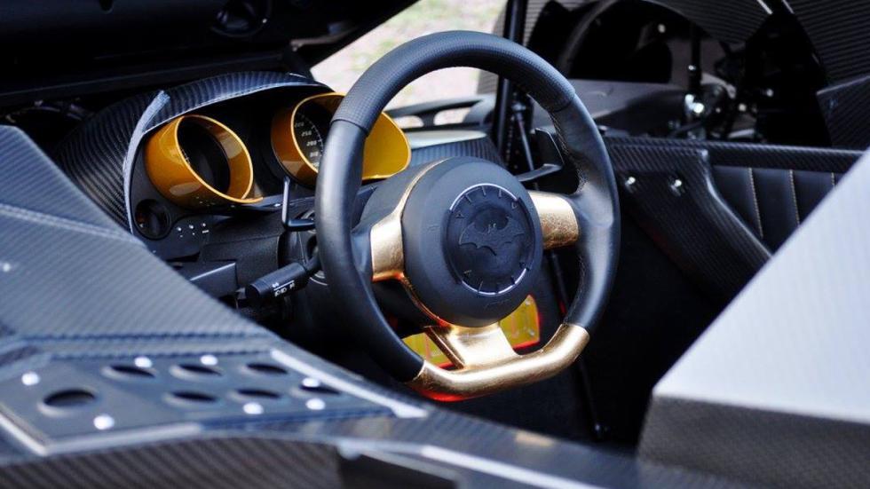 coche más espectacular Gumball 3000 2016 interior