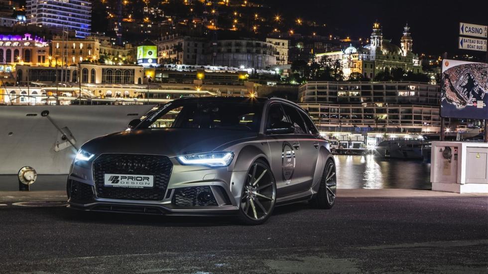 Audi RS6 Prior Design tres cuartos delanteros