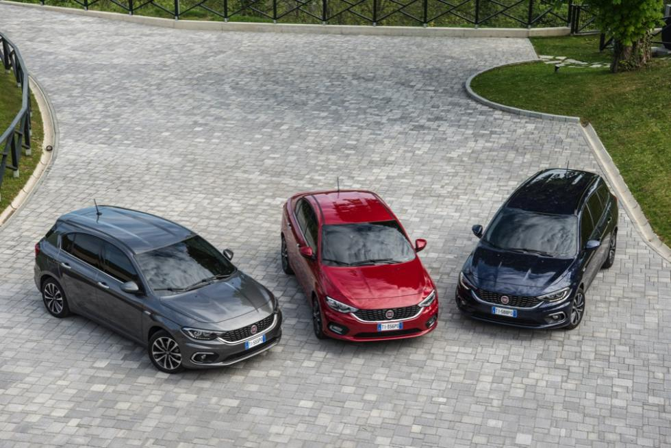 Fiat Tipo de cinco puertas gama