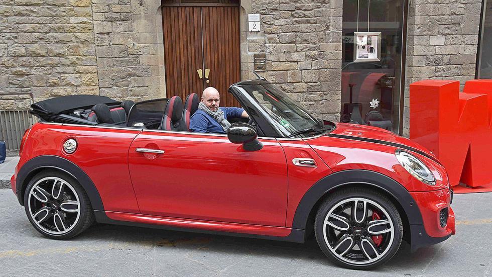 Mini John Cooper Works Cabrio 2016 3 lateral