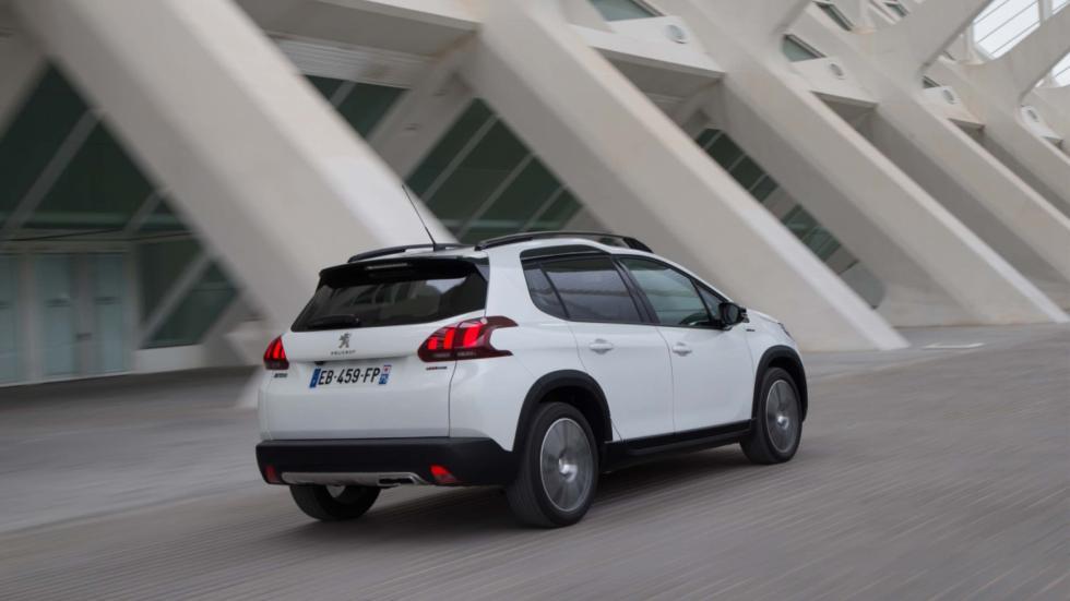 trasera Peugeot 2008 2016