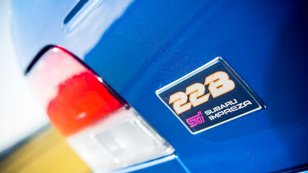 Subaru Impreza 22B STI, a subasta