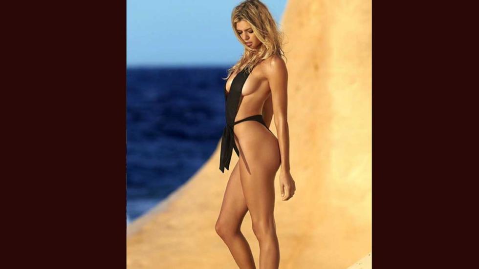 Kelly Rohrbach la 'nueva' Pamela Anderson en 'Los Vigilantes de la Playa'