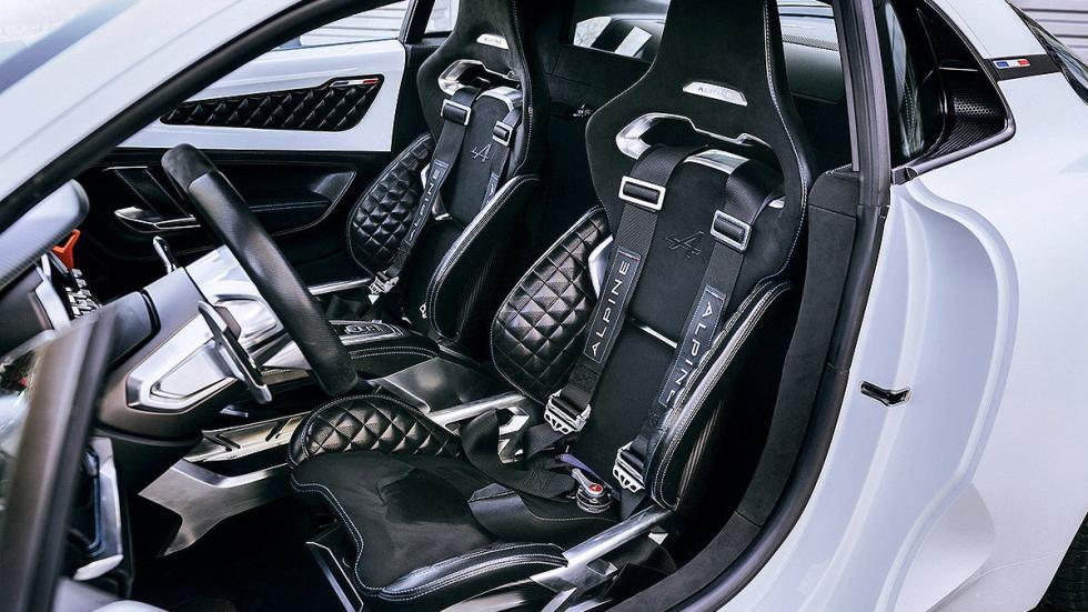 Renault Alpine interior