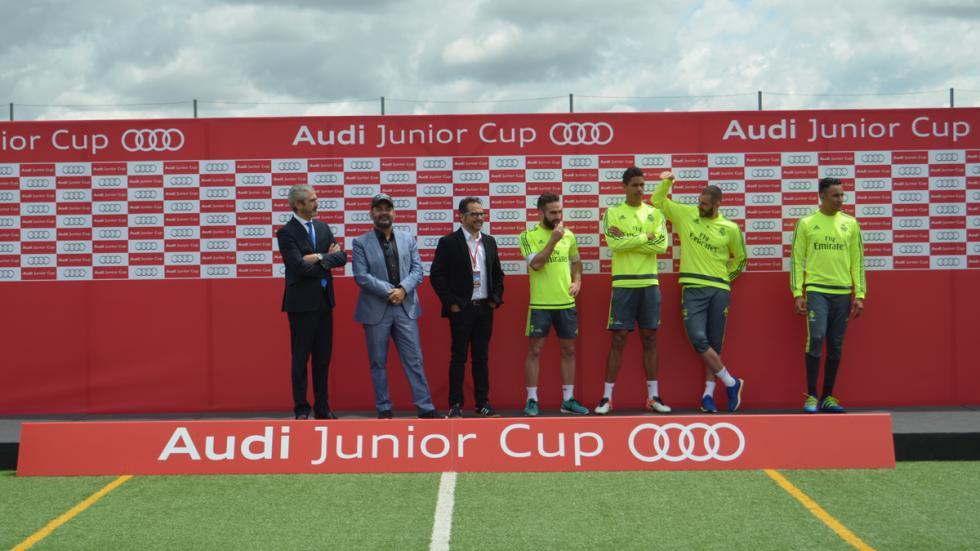 benzema real madrid audi junior cup jugadores corbacho