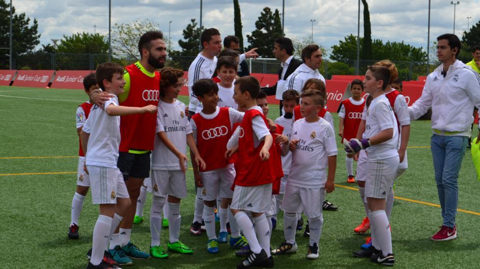 carvajal real madrid audi junior cup jugadores victoria