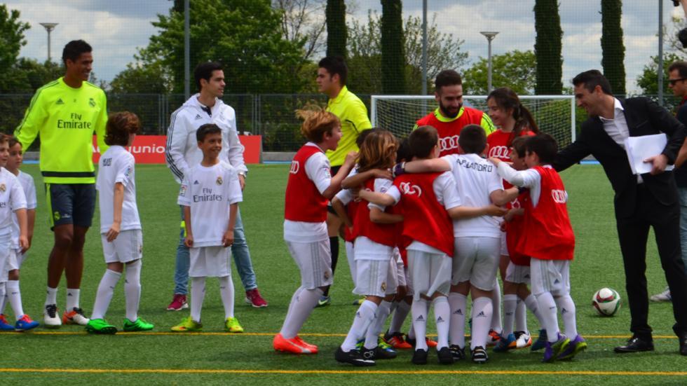 carvajal real madrid audi junior cup jugadores campeon