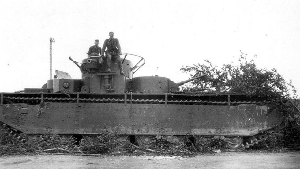 prototipos maquinaria sovietica pasado tanque