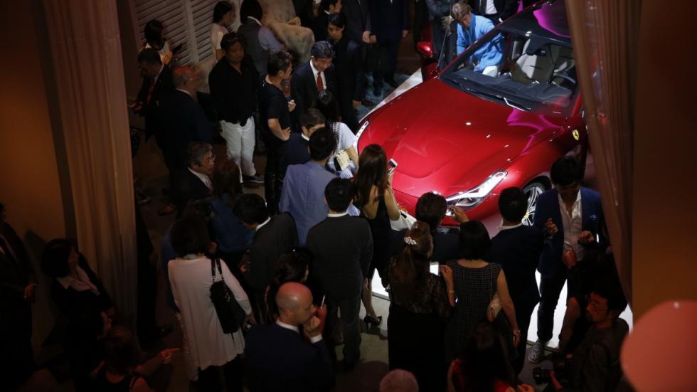 Ferrari GTC4Lusso en Japón