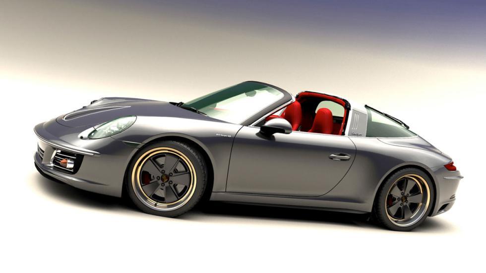 Porsche 911 retro targa