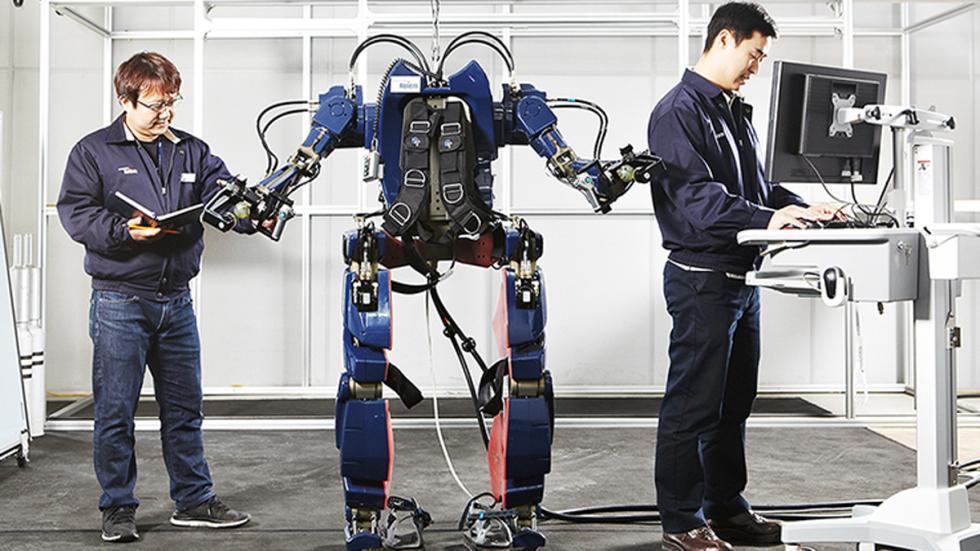 exoesqueleto hyundai corea prototipo