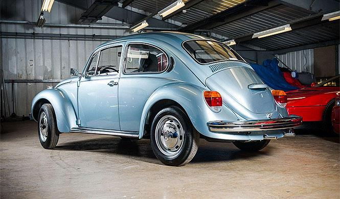 Volkswagen Escarabajo del 74 y con 90 kilómetros, a subasta