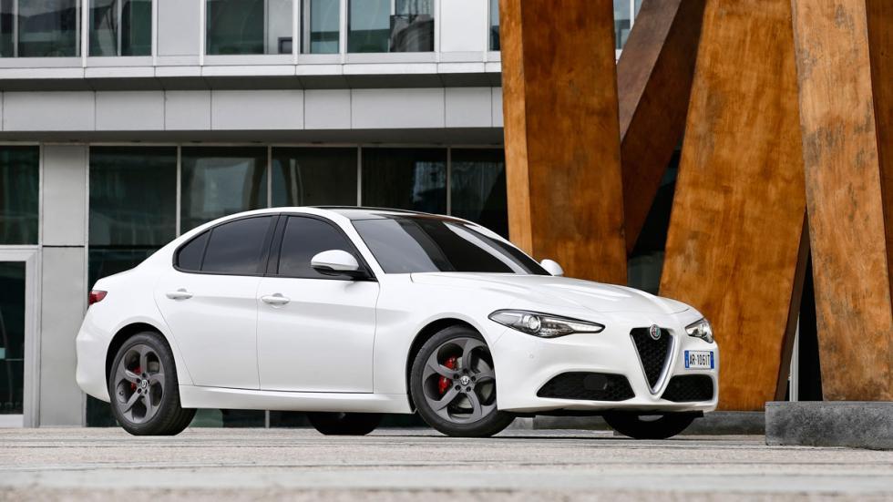 Prueba Alfa Romeo Giulia blanco