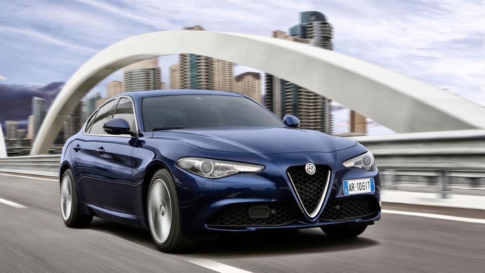Prueba Alfa Romeo Giulia azul