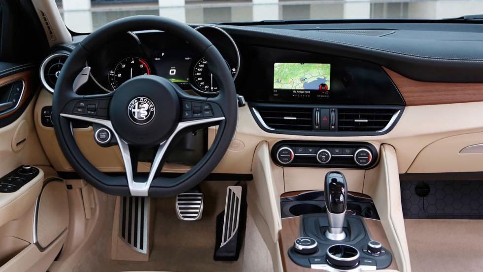 Prueba Alfa Romeo Giulia interior