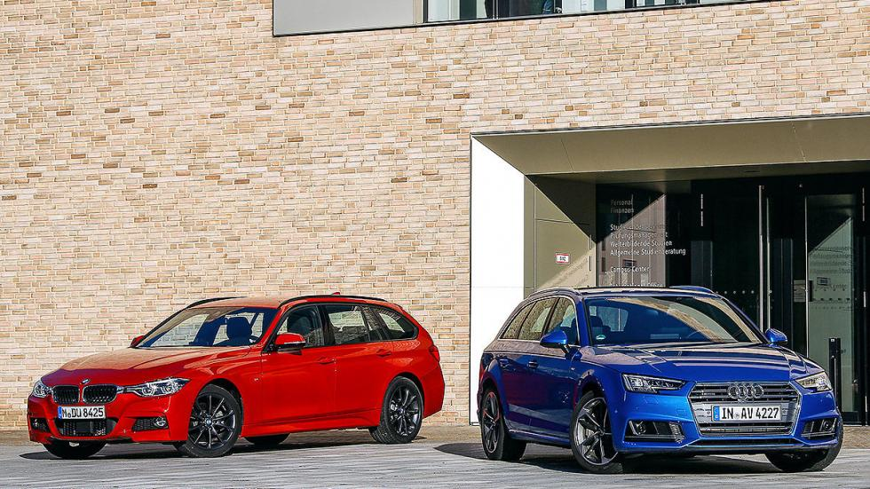 Audi A4 Avant vs BMW Serie 3 Touring