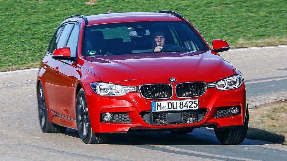 BMW Serie 3 Touring curva