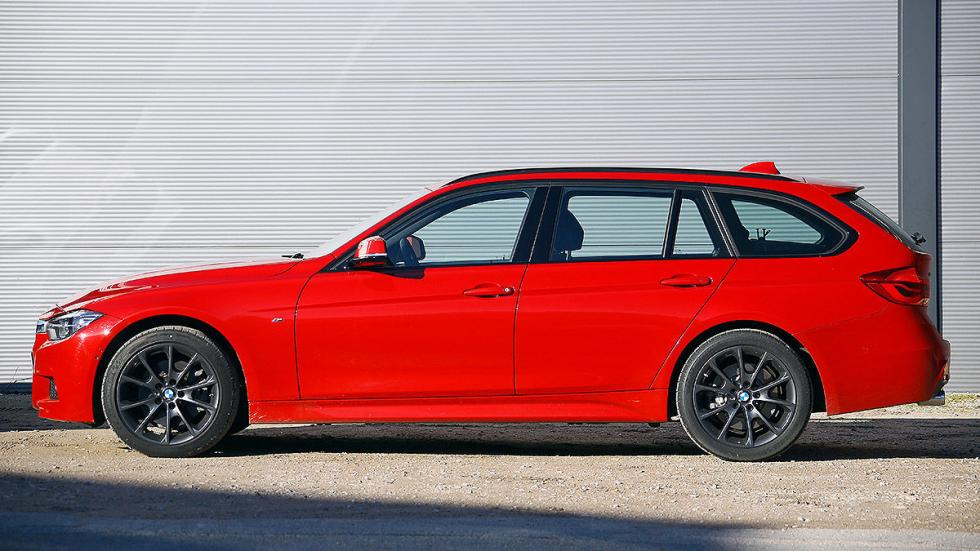 BMW Serie 3 Touring lateral