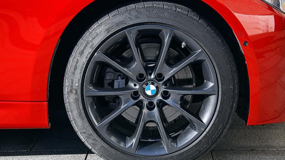 BMW Serie 3 Touring lateral llantas