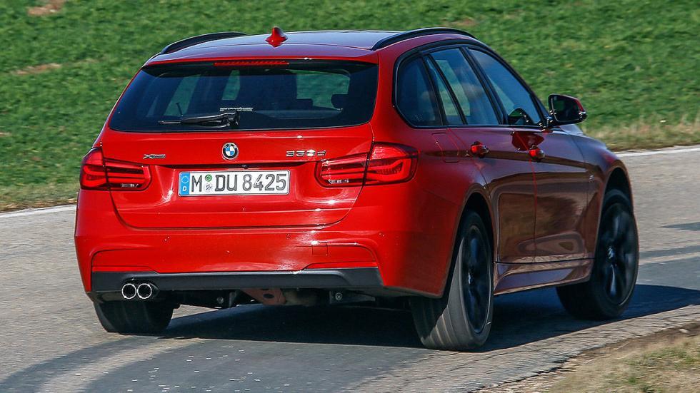 BMW Serie 3 Touring lateral llantas 3 cuartos