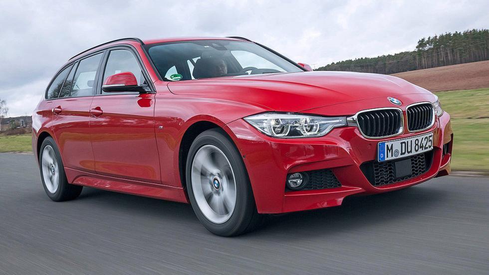BMW Serie 3 Touring lateral llantas 3 cuartos delantera