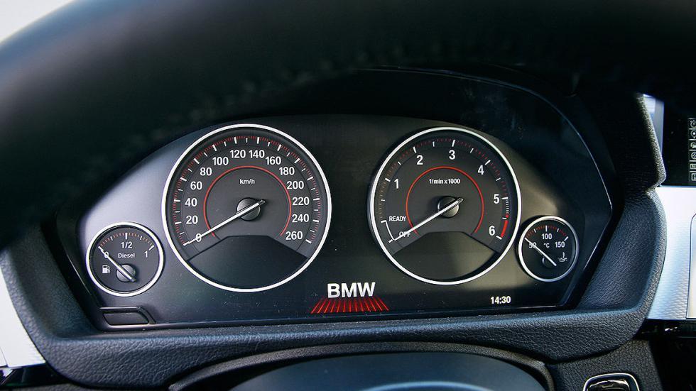 BMW Serie 3 Touring cockpit