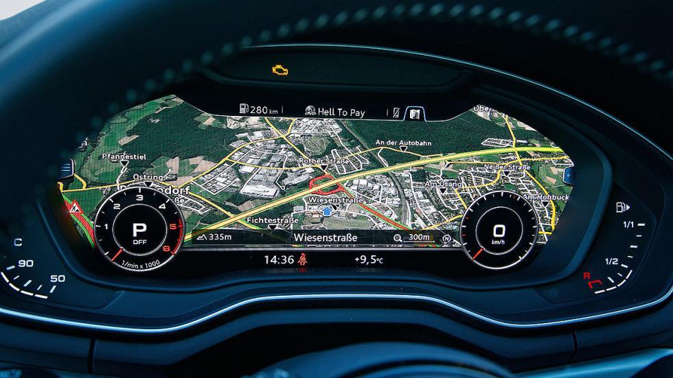 Audi A4 Avant cockpit digital