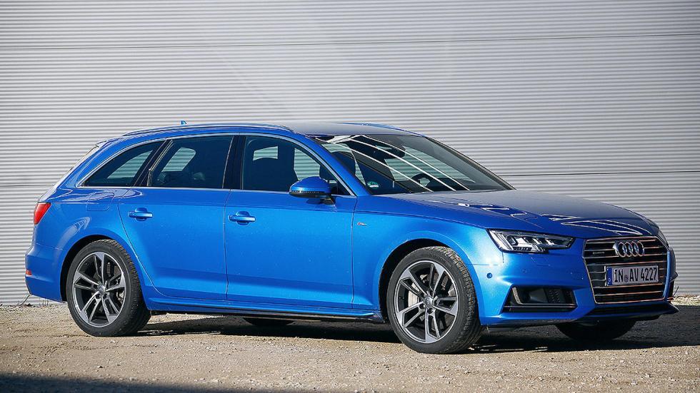 Audi A4 Avant lateral