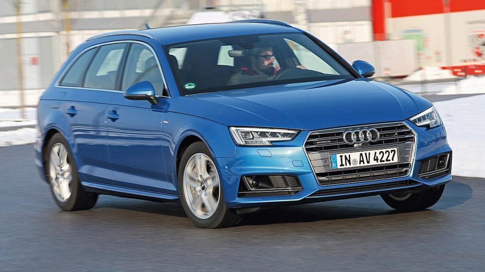 Audi A4 Avant lateral 3 cuartos dinámica