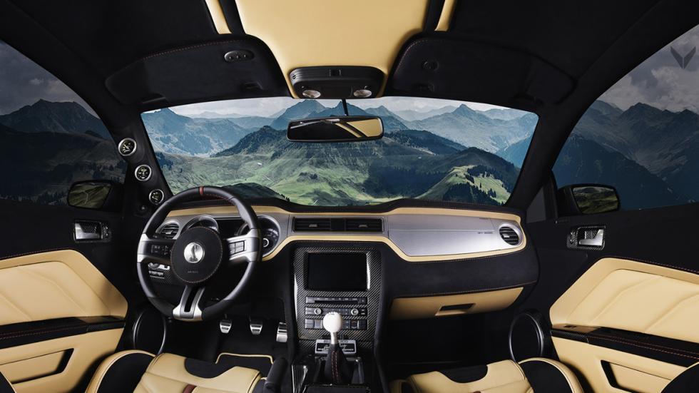 Vilner Shelby Mustang GT500 Super Snake salpicadero