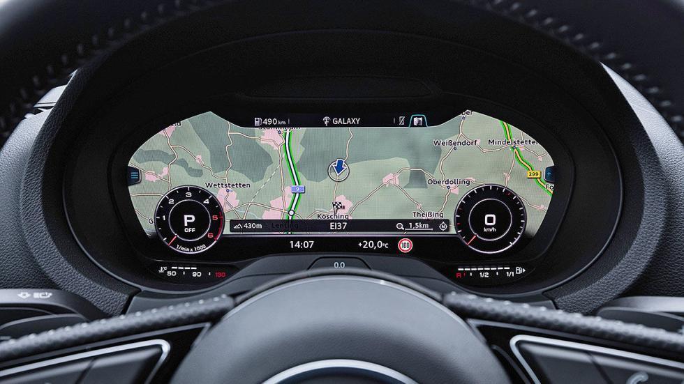 Audi A3 2016 cockpit virtual